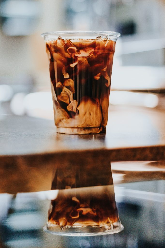 Iced Coffee Reflection